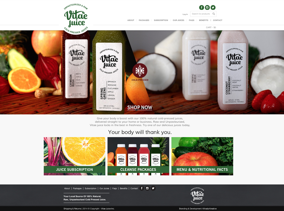 Green Web Design Case Study