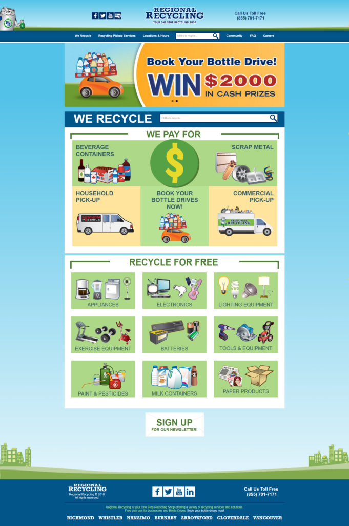 Regional Recycling Website