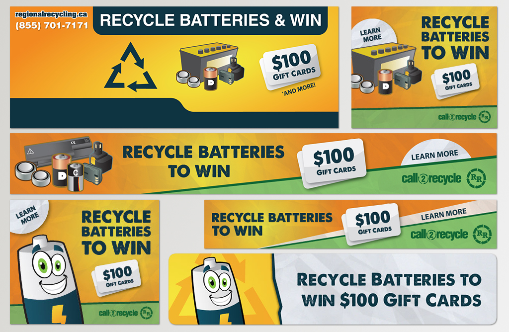 Recycling Contests & Advertising Campaigns