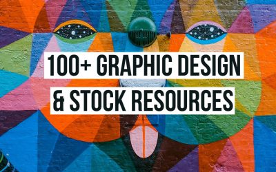 THE MOST EXPANSIVE LIST OF OVER 100 GRAPHIC DESIGN & STOCK RESOURCES